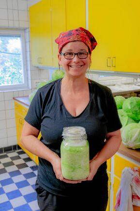I Adrianas hemland Polen är mjölksyrning vanligt.