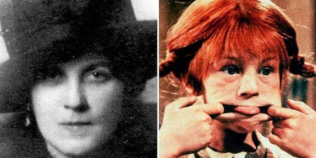 """Hon var Pippi Långstrumps okända """"mamma"""" – och drottning i Söderhavet!"""