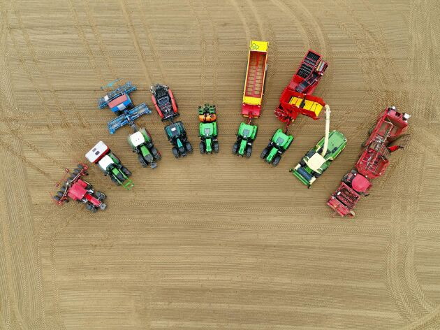 Agrirouter underlättar utbyte av data mellan maskiner från olika tillverkare.