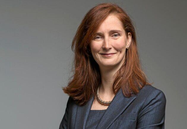 I december tar Annica Bresky över VD-posten för Stora Enso efter avgående Karl-Henrik Sundström.