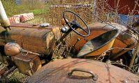 Gräl om gammal Volvotraktor hamnar i rätten