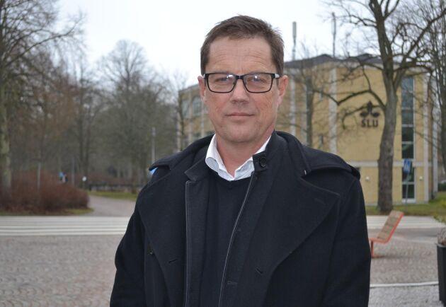 """Ulf Möller rekryterades till Swedbank för sin lantbrukskompetens. """"Jag tycker att jag och mina kollegor har lyckats att få banken att förstå lantbruksaffären bättre"""", säger han."""