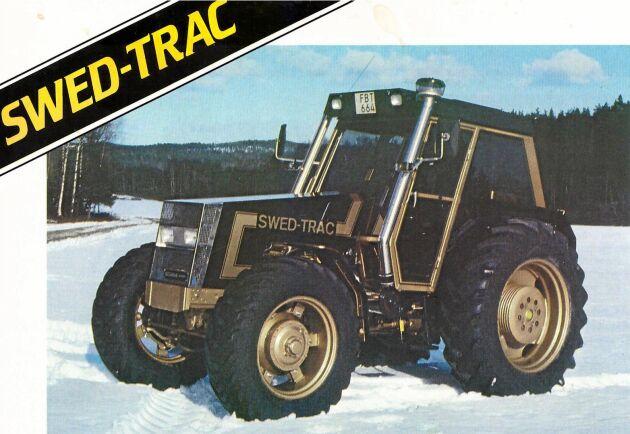 Serietillverkningen av den första modellen av Swed-Trac påbörjades i mars 1985. Traktorerna monterades ihop i en gammal ladugård.