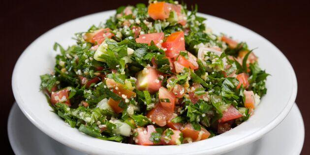 Piffa upp middagen med spännande tabbouleh