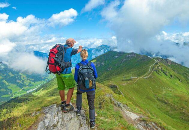 Vandring, vackra vyer och god mat utlovas på Lands två resor till Bad Gastein i Österrike.