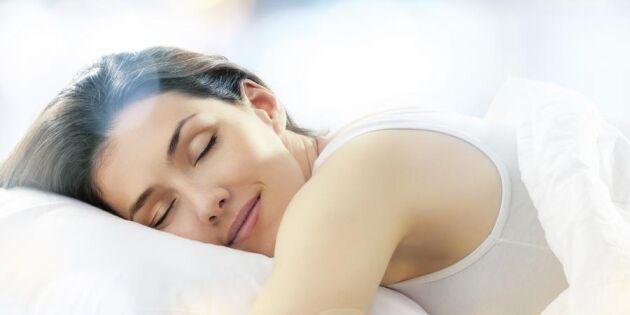 Så blir du snarkfri – 8 tips för en lugn och skön nattsömn