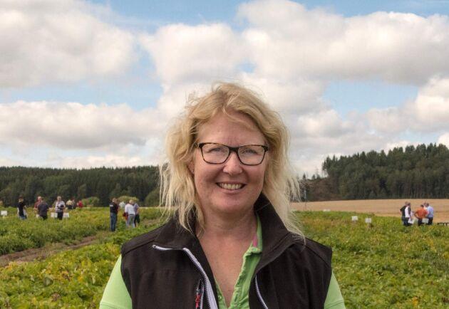 Lisa Andrae, rådgivare på Rådhuset Nordfalan och styrelseledamot i Potatisodlarna.