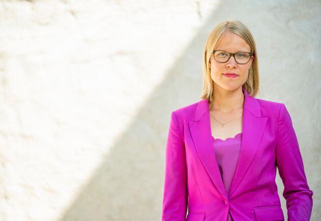 Kristina Yngwe (C) vill visa att svenska politiker tror på en framtid för svensk djurproduktion.
