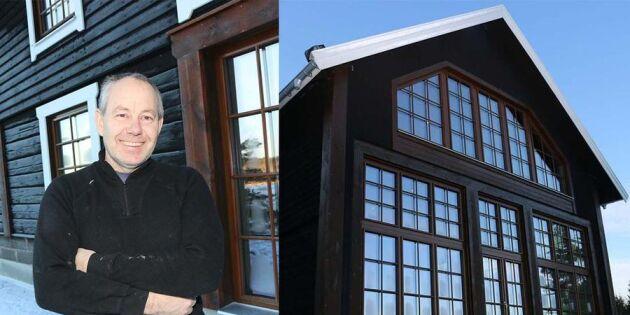 Flyttade 100 år gammal ladugård – och byggde om till drömboende