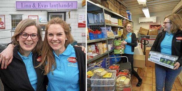 Deras moderna lanthandel ger matbutiksjättarna en match