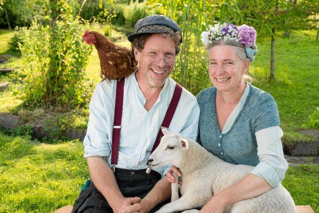 Glatt och härligt – det är så som tv-tittarna får möta Gustav och Marie Mandelmann.