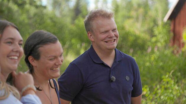 Skogsbonden Per Solberg arbetar heltid som företagsrådgivare på bank.