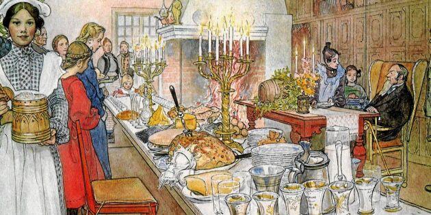 Så ska julbordet ätas – om man följer traditionen