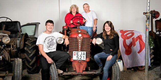 Deras passion skapar unik traktorsamling: Här är familjen som tokälskar Zetor