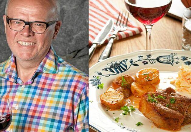 Lergryta är världsbäst när man vill att maten ska sköta sig själv. Här är Håkan Larssons underbart saftigt revbensspjäll – med sting.