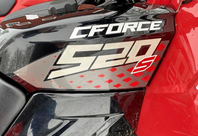 CF Moto har sex ATV:er mellan 400 och 1000 kubik på programmet.