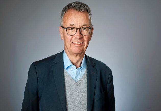 Per-Olof Wedin, VD för Sveaskog, svarar inte på frågor från vare sig DI eller ATL.