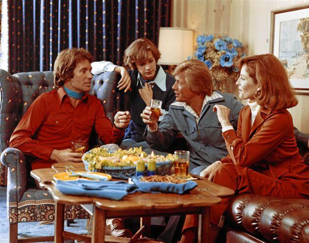 På 70-talet partajade man med stil.