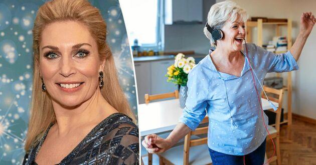 """Ann Wilsson, 51, har varit jurymedlem i TV4:s """"Let's Dance"""" från starten."""