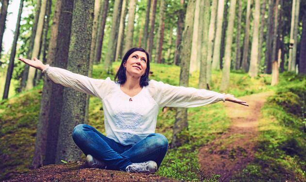 Lyckligare av skogen - det visar flera studier att vi blir.