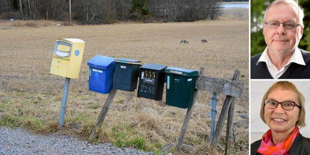 """Debatt: """"Spara i stan – en nyckel till bättre postservice i glesbygd"""""""