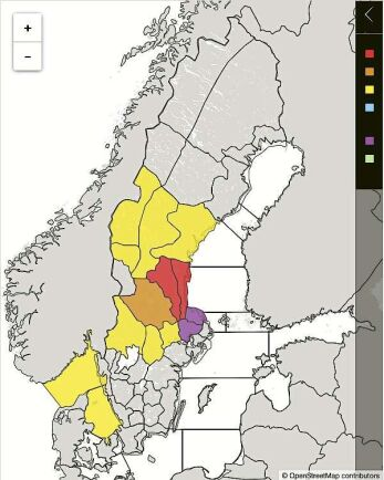 Årets vårflod väntas bli den värsta på 50 år i Gävleborgs län. Klass 1-varning ligger för stora delar av Norra Svealand och delar av södra Norrland.