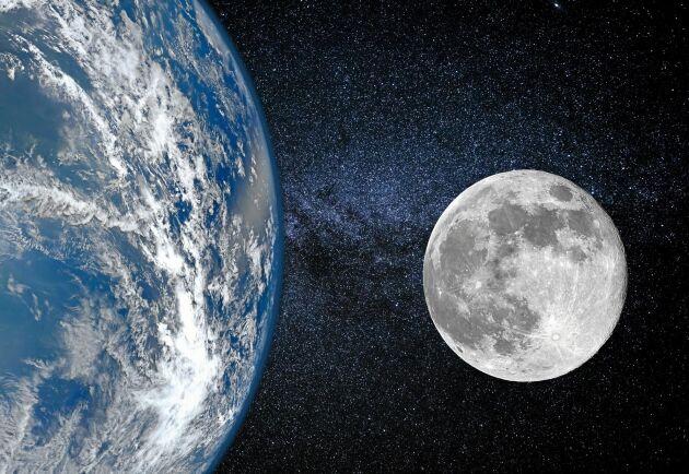 Jorden och månen är förbundna i ett ständigt kretslopp.