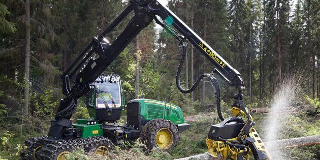 Stor brist på begagnade skogsmaskiner