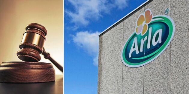 Efter nedläggningen – nu anmäls Arla till domstol