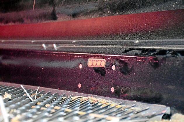 En av de trycksensorer som mäter tryckfallet över översållet. Detta är en av de variabler som styr rensfläktens varvtal och översållets beläggning.