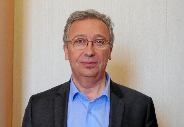 Eric Thirouin i FNSEA ansvarar för ett nytt miljöprogram.