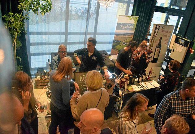Råå Bryggeri var en av cirka 50 utställare på den välbesökta mässan.