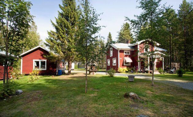 I Norrfjärden, 15 kilometer norr om Piteå, tillbringar Lisa många månader per år, i stugan på pappas gård.