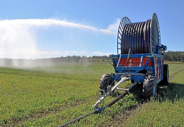 Under fältdagarna kommer allt från pivoter till självgående bevattningsmaskiner att demonstreras.