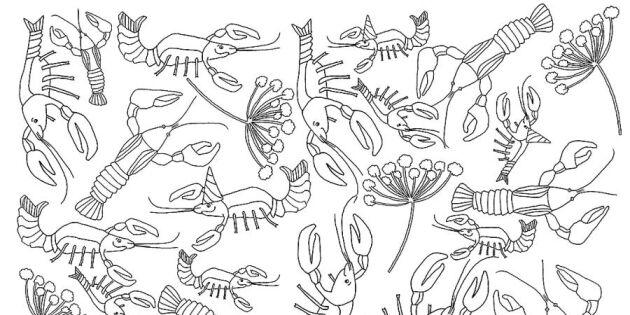 Skriv ut Lands dekorationer till kräftskivan – perfekt för barnen att färglägga