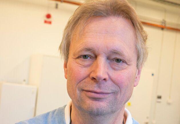 Anders Kiessling, professor i akvakultur på institutionen för husdjurens utfodring och vård, SLU, som leder projektet.