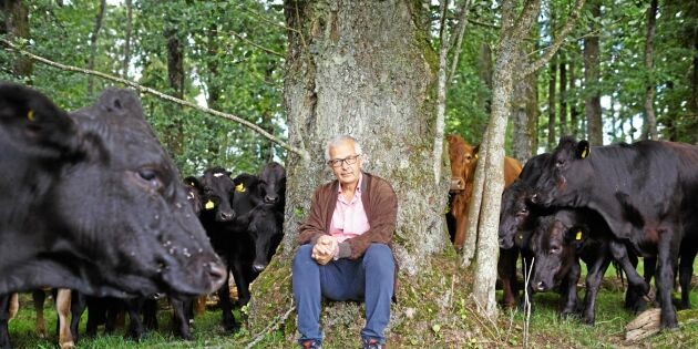 Han driver Sveriges största gård