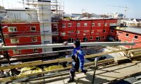Kina studerar träbyggande Sverige