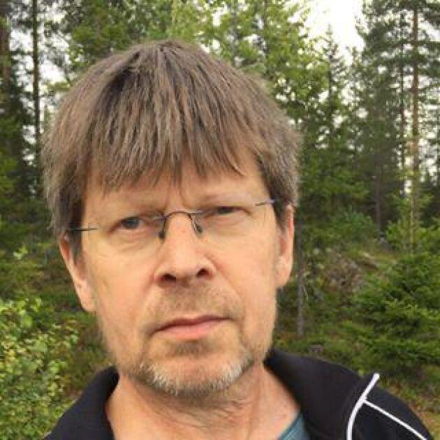Tomas Lundmark är professor i skogskötsel på SLU i Uppsala.