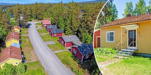 Sorsele kommun säljer ett helt kvarter – med elva bostäder