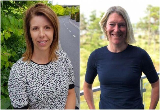Christin Rappe och Cecilia Glydén menar att det finns alla möjligheter att vara med och påverka i LRF.