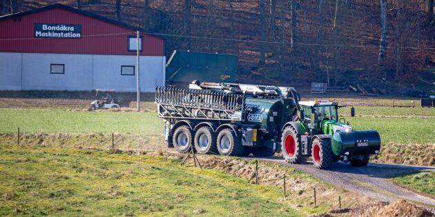 Traktorns effekt mer än fördubblad på 40 år