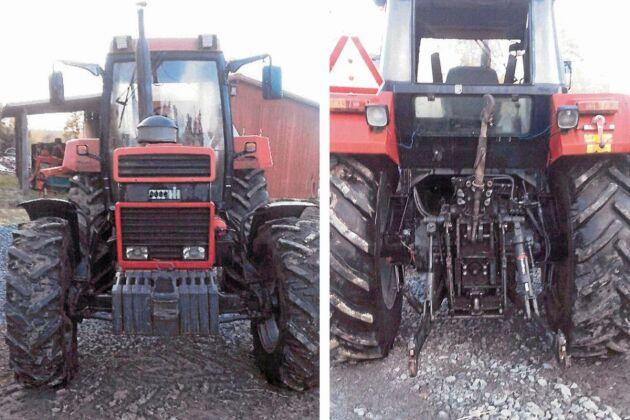 """Lars-Ove Byström satte nästan kaffet i halsen när jag fick syn på en bild av sin egen traktor i tidningen under rubriken """"Storbedragare lurade lantbrukare på Blocket""""."""