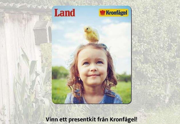 Tävla med Land och Kronfågel.