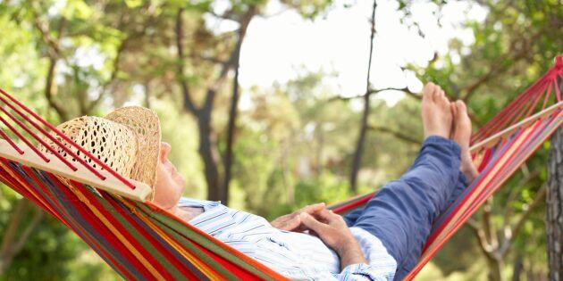 Därför är det nödvändigt att lata sig på semestern
