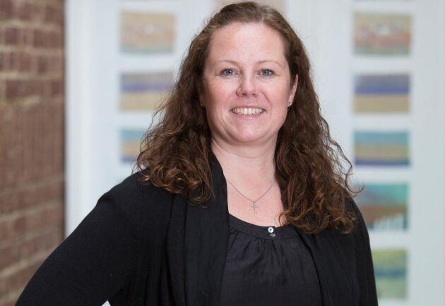 Sophia Säberg, enhetschef på Jordbruksverkets djurkontrollenhet.