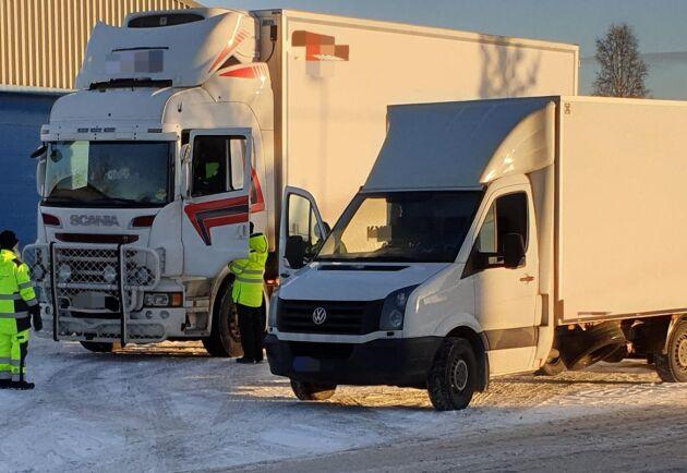Säkerhetsbrister hos många transportföretag.
