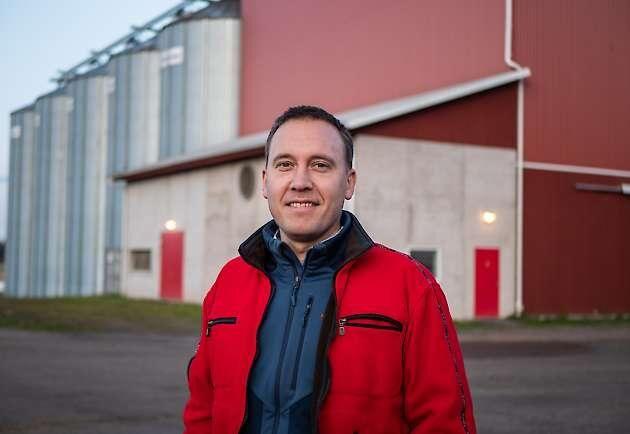 Johan Ocklind, VD på Vadsbo Mjölk och Vadsbo Växtodling.