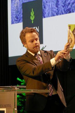 Skogsägarföreningen Viken Skog håller skogskonferens. Näringsminister Torbjörn Røe Isaksen är en av talarna.