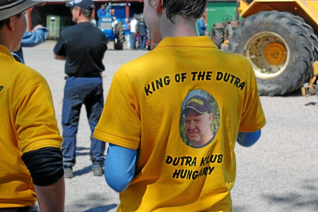Besökare från Ungern kom för att se Dutra i Sverige och för att uppmunta Christer Esbjörnsson.